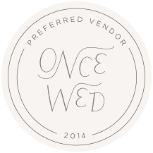 Once Wed Preferred Vendor